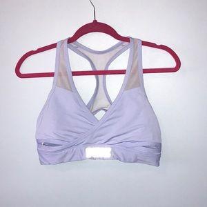 Periwinkle Pink Victoria Secret sports bra